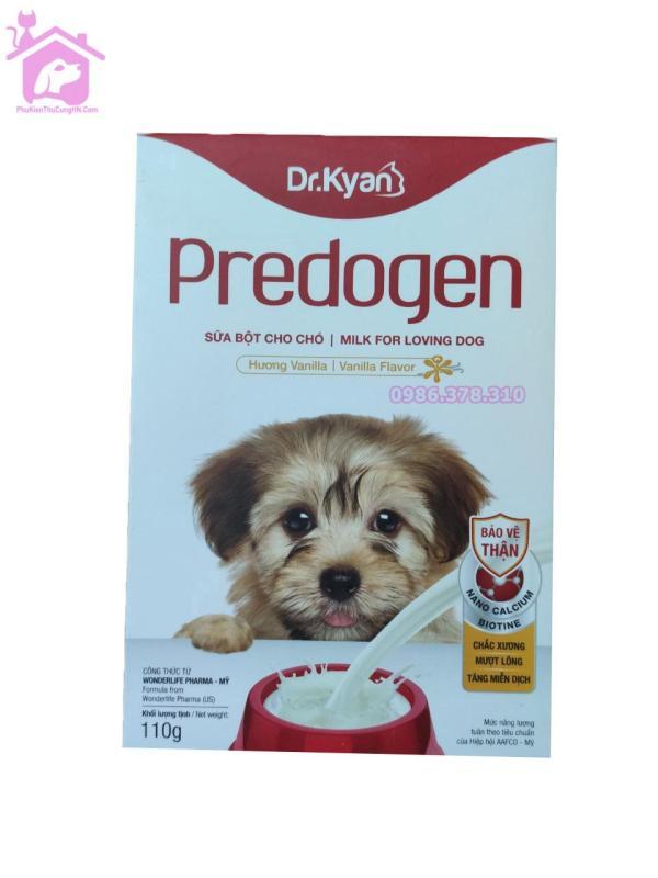 Sữa bột dinh dưỡng cho chó Dr.Kyan Predogen 110g