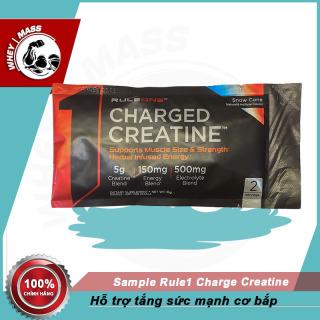 Gói Sample Dùng Thử Tăng Sức Mạnh Cơ Bắp Rule1 Charge Creatine 8gram thumbnail