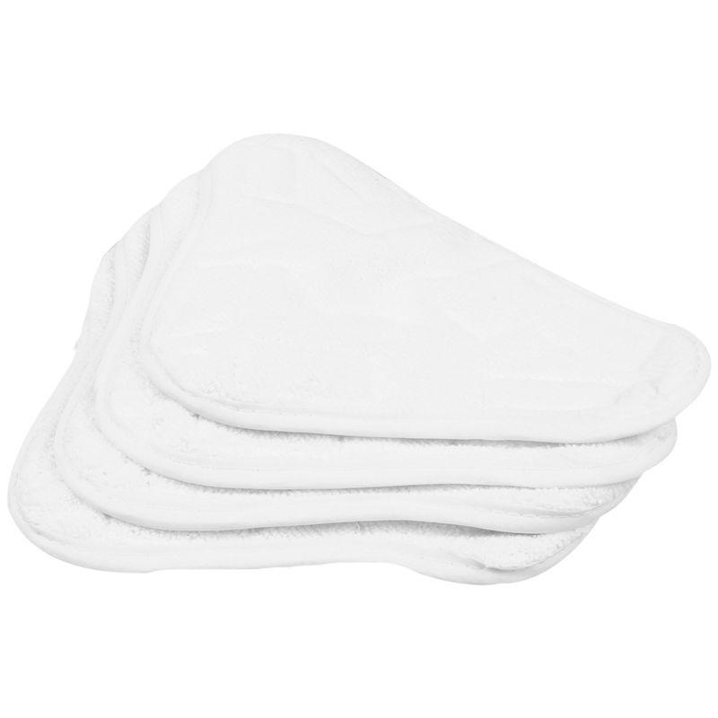 New 4pcs Replacement Pads For H2O H20 X5 Steam Mop Cleaner Floor Washable Microfibre Pads