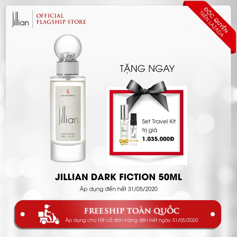 Nước hoa Jillian: Dark Fiction 50ml + TẶNG Set Travel Kit trị giá 1.035.000đ nhập khẩu