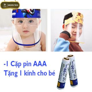 Cặp pin aaa tặng Kính chống dịch cho bé 3 đến 9 tuổi đủ hình ngộ nghĩnh, kính chống giọt bắn Covid cho trẻ em có gọng kính chống tuột thỏa sức nô đùa(giao được mọi noi từ 7-10 ngày) thumbnail