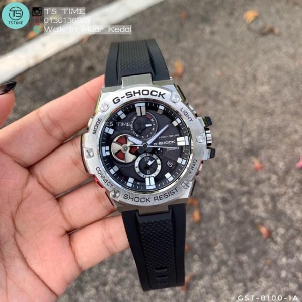 Nơi bán Đồng Hồ Nam G-Shock B-100 (1:1) Dây Cao Su Cực Ngầu