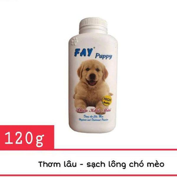 Fay Puppy 120g - Phân tắm khô dành cho chó mèo con