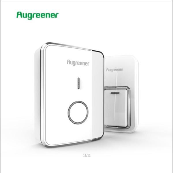 Chuông cửa không dây chống nước, không dùng pin Augreener N1 (Bản cao cấp)