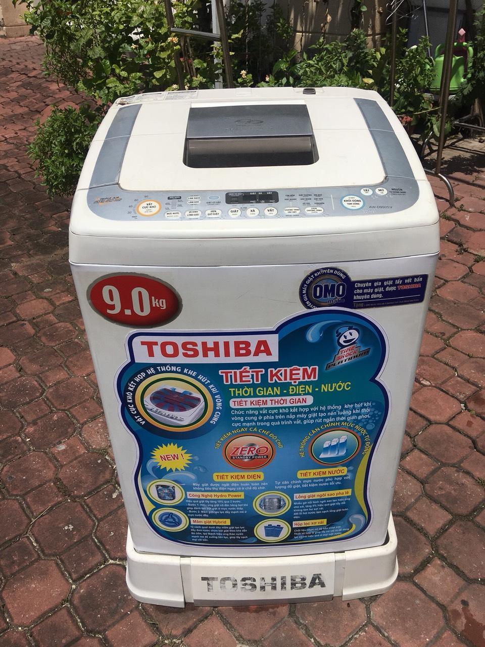 Máy giặt Toshiba inverter 9kg - bao lắp đặt(chỉ nội thành HCM)