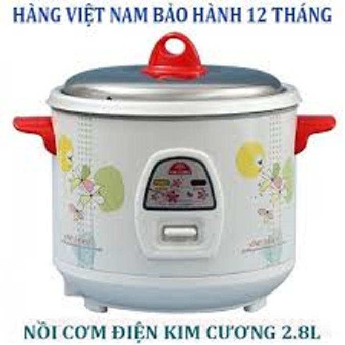Bảng giá Nồi cơm điện  Kim Cương2.8l nắp rời hàng Việt Nam chất lượng cao Điện máy Pico