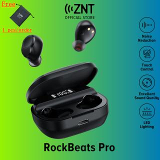 Tai nghe không dây - Tai nghe không dây ZNT RockBeats Pro Tai nghe không dây thực sự Bluetooth 5.0, Tích hợp micrô với Màn hình kỹ thuật số LED thông minh, Thời gian làm việc có thể kéo dài 4 giờ thumbnail