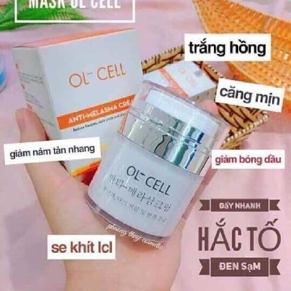 Kem Hút Nám Thải Độc OL-CELL Hàn Quốc Hút độc tố, giảm nám, tàn nhang, thải độc chì và giảm thâm mụn