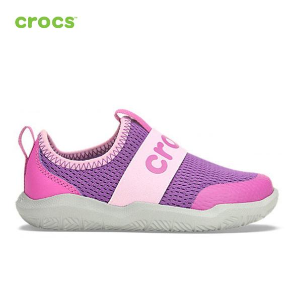 CROCS Giày Lười Trẻ Em Swiftwater EasyOn 205362 giá rẻ