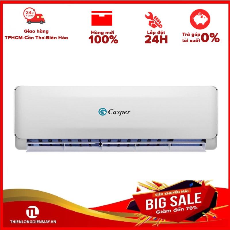 [Nhập ELMAY21 giảm 10% tối đa 200k đơn từ 99k]Máy lạnh Casper EC-24TL22 (2.5Hp)