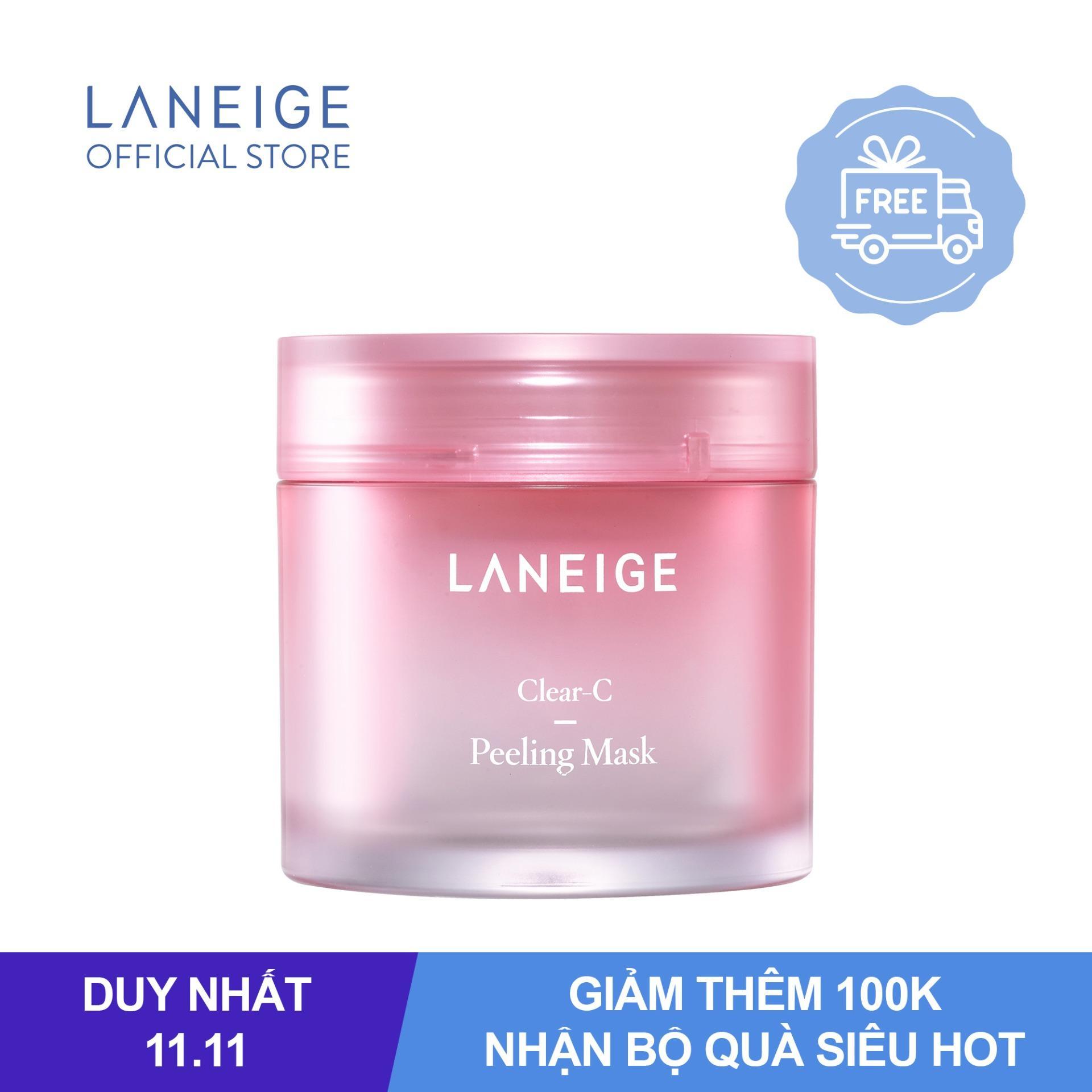 Mặt nạ loại bỏ tế bào chết dịu nhẹ cho da Laneige Clear-C Peeling Mask 70ml