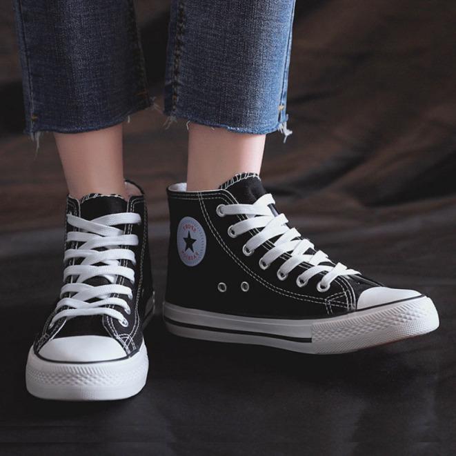 Giày nam, nữ giày Sneaker nam,nữ CV cao cổ, chất liệu tổng hợp, cực năng đông giá rẻ