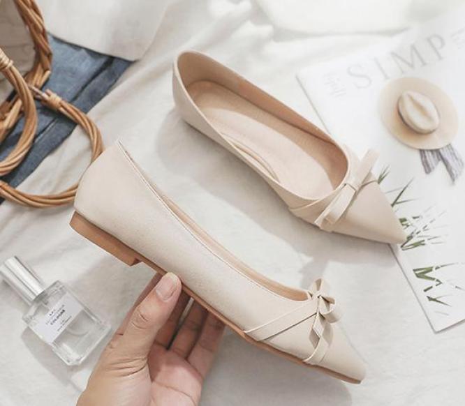 Giày bệt NƠ kiểu dáng Hàn Quốc mã B3 giá rẻ