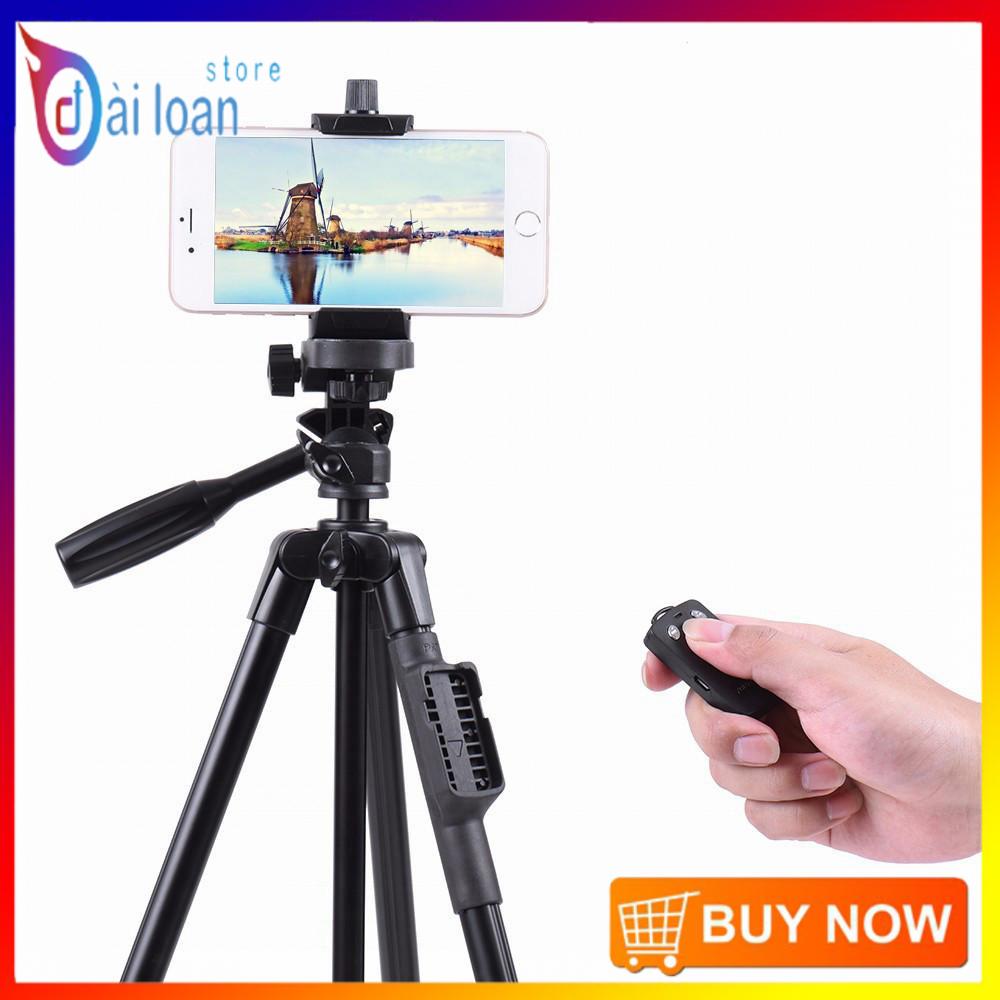 [Chân chụp ảnh] Chân đế Tripod Bluetooth cho điện thoại và máy ảnh TTX - 6218 (Kèm túi đựng và remote bluetooth)