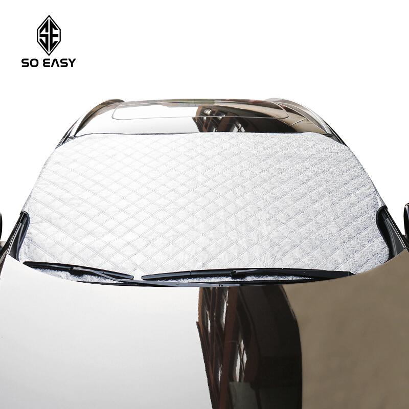 [HCM]Tấm che chống nắng phản quang chống gió chống mưa chống bám tuyết cách nhiệt tuyệt đối cho kính trước ôtô xe hơi xe tải gấp gọn cỡ lớn 145*90 cm EX016