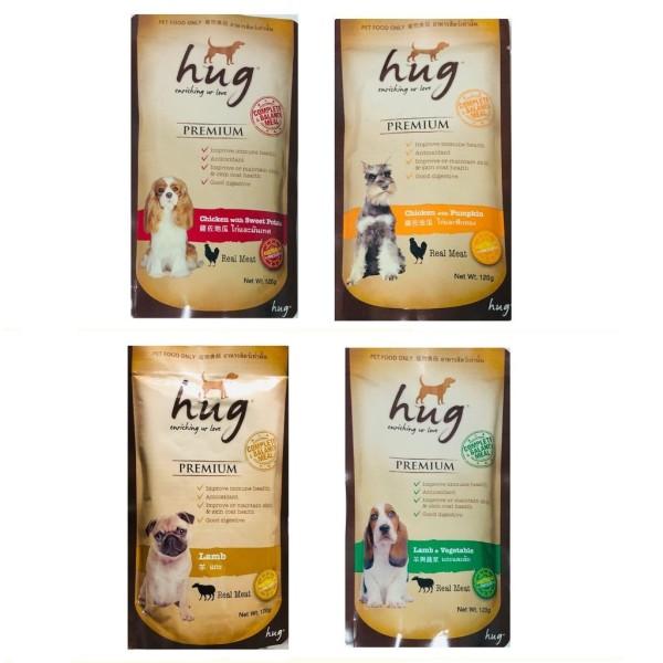 Pate dinh dưỡng cho chó HUG gói 120g