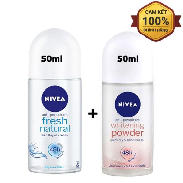 COMBO 2 CHAI LĂN KHỬ MÙI NIVEA - MỸ - 50ml/chai giá rẻ