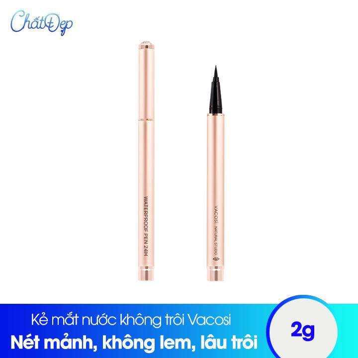 Kẻ mắt nước không trôi Vacosi 24h Waterproof Pen tốt nhất