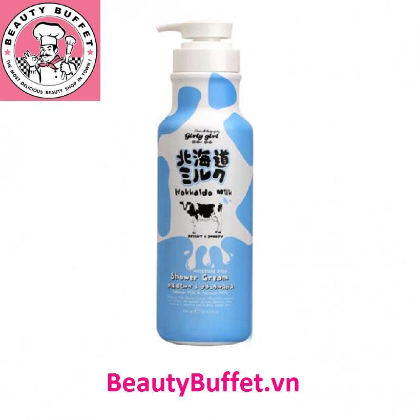 Kem tắm trắng da từ protein sữa Hokkaido 700ml nhập khẩu