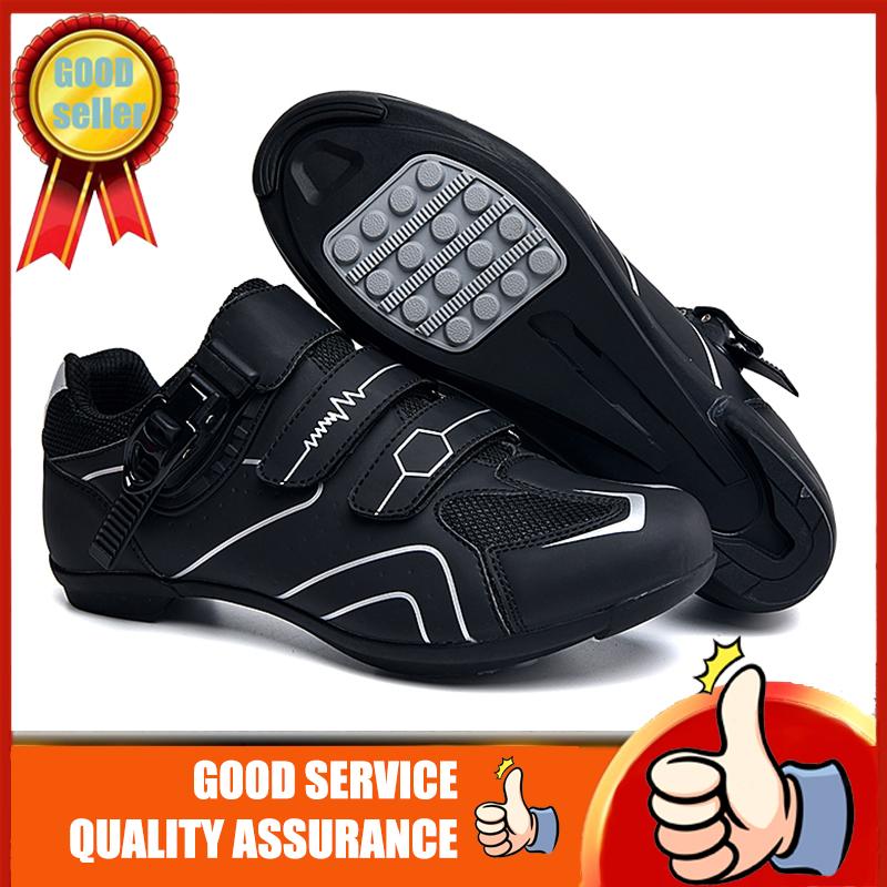 2021 Giày thể thao nam đế bán cao su thích hợp hoạt động ngoài trời đi xe đạp chống thấm nước chống trượt chất liệu thoáng khí Kích thước: 37-46