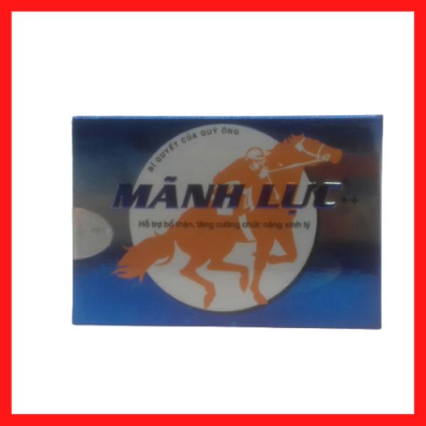 Mãnh lực – Bổ thận tráng dương – Tăng cường sinh lý, giảm các triệu chứng của mãn dục nam – Hộp 2 viên