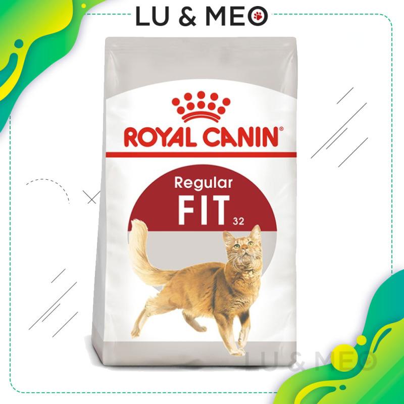 Thức ăn hạt cho mèo trưởng thành Royal Canin Fit 32, giàu dinh dưỡng, 400g, HSD 11/05