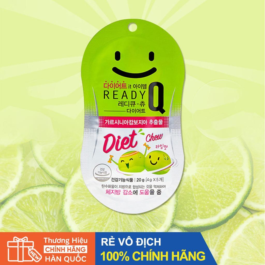 Kẹo Giảm Cân Hàn Quốc - Ready Q Chew Diet nhập khẩu
