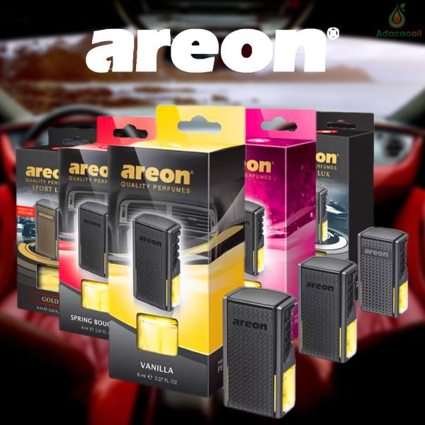 Nước hoa ô tô kẹp cửa gió Areon, dầu thơm xe ô tô cao cấp, giúp khử mùi, thư giãn lái xe, nhập khẩu Châu Âu