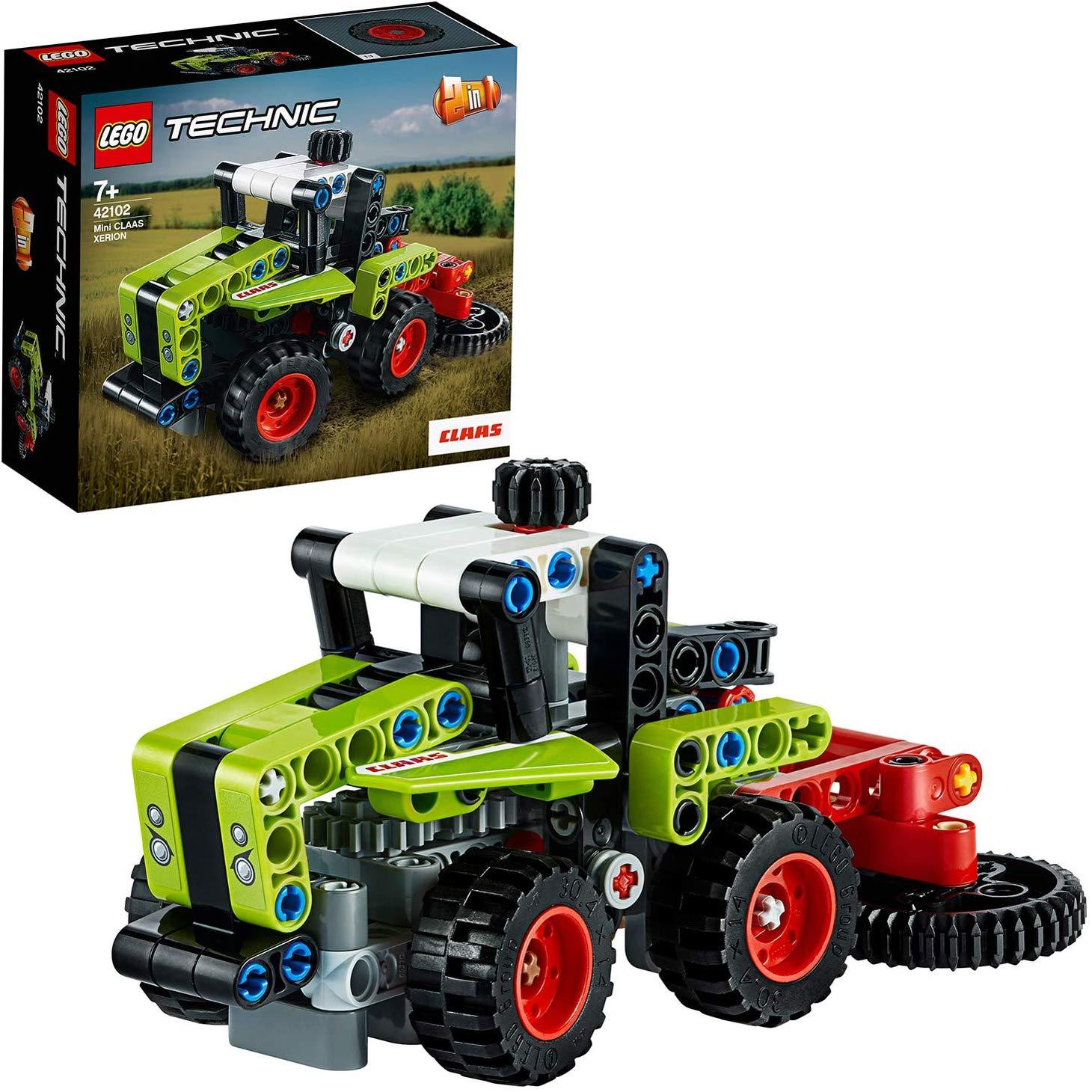 Không Thể Bỏ Qua Giá Hot với LEGO TECHNIC Máy Kéo CLAAS XERION Mini 42102