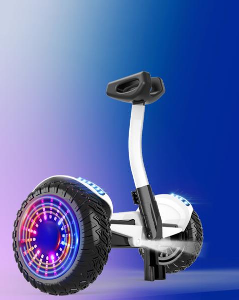 Phân phối Xe điện cân bằng siêu cấp - 2 tay điều khiển và chân kẹp - Phát nhạc Bluetooth