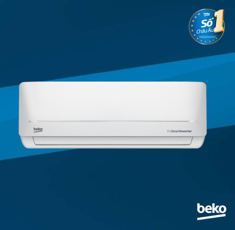 Máy lạnh Beko Inverter RSVC13BV - Chế độ làm lạnh cực nhanh Super Cool - 13.000 BTU - Cảm biến nhiệt độ thông minh RealSet - Hàng chính hãng bảo hành 2 năm