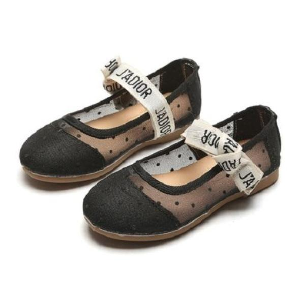 Giày búp bê chấm bi cho bé gái giá rẻ