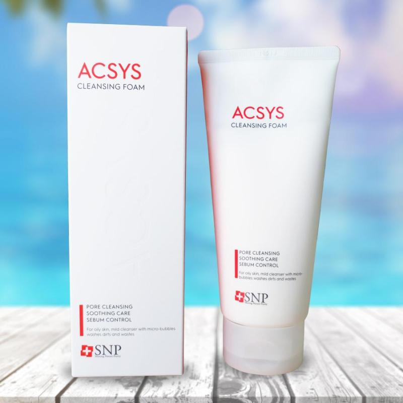 Sữa Rửa Mặt Ngăn Ngừa Mụn Sạch Nhờn SNP Acsys Cleansing Foam giá rẻ