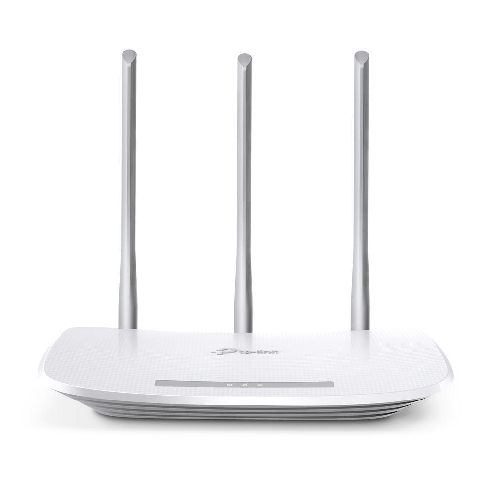 TP-Link Bộ Phát Wifi không dây chuẩn N tốc độ 300Mbps Ba ăng-ten ngoài giúp phủ sóng mạnh hơn TL-WR845N - Hãng phân phối chính thức