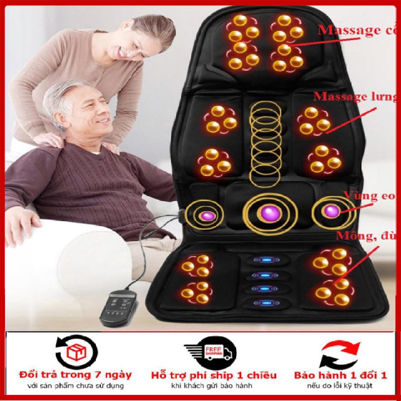 Đệm ghế massage toàn thân ,  nệm ghế massage cao cấp dùng trên ghế, ô tô