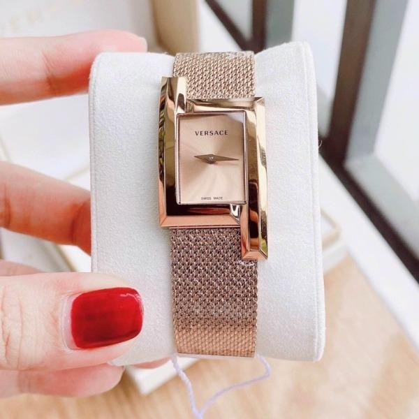 Nơi bán [MUA 1 TẶNG 1] Đồng hồ nữ dây lưới đồng hồ nữ ver$ace VELU00619 Greca Watch size 36mm Full Box,đồng hồ nữ sang trọng,đồng hồ nữ chống nước