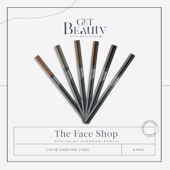 CHÌ KẺ CHÂN MÀY THE FACE SHOP BROWLASTING WATERPROOF EYEBROW PENCIL 0.5G