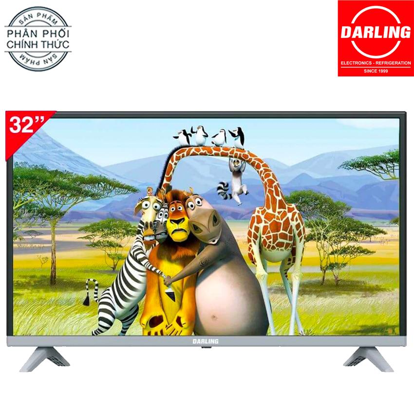 Bảng giá Smart Tivi Darling 32 inch HD - Model 32FH960S, 32HD959T2 (Đen)