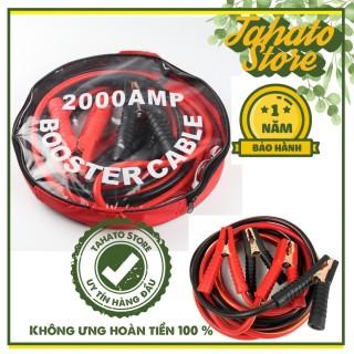 [Tặng túi đựng]Dây câu bình ác quy 2000A-4 mét lõi đồng có kẹp cách điện bảo hành 12 tháng thumbnail