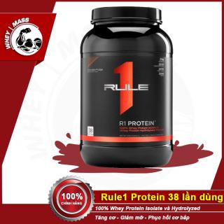 Sữa Dinh Dưỡng Tăng Cơ RULE1 Protein 2Lbs ( KG) Chính Hãng Authentic 100% Từ USA thumbnail