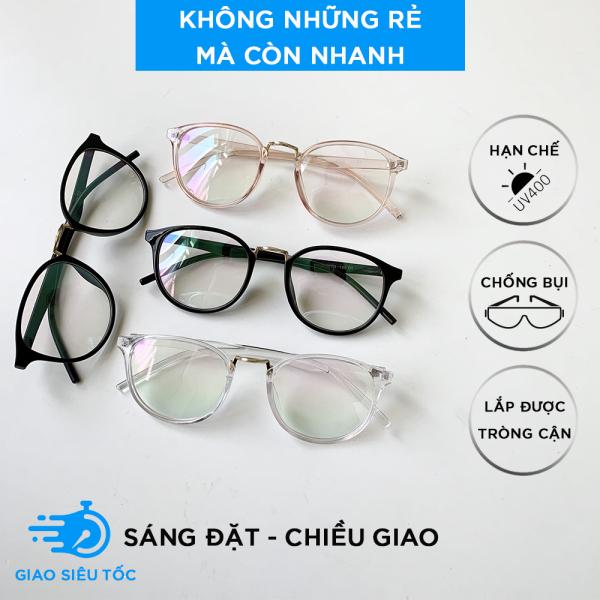 Giá bán Kính Thời Trang Nữ AH159 - Mắt kính giả cận nam nữ Gọng Dẻo Hàn Quốc Tr90 209 Siêu Xịn đẹp
