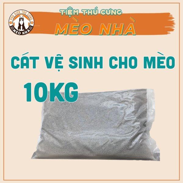 Cát vệ sinh cho mèo hàng việt nam 10kg