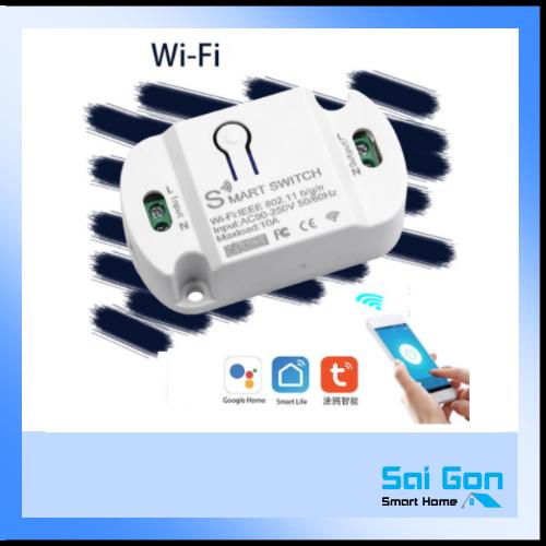 Công tắc điều khiển từ xa basic qua wifi - App Smart Life