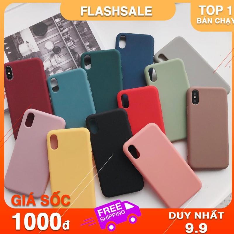 Giá Ốp lưng iphone TRƠN DẺO 8 MÀU 6/6plus/6s/6s plus/6/7/7plus/8/8plus/x/xs/xs max/11/11 pro/11 promax – Shin Case f196