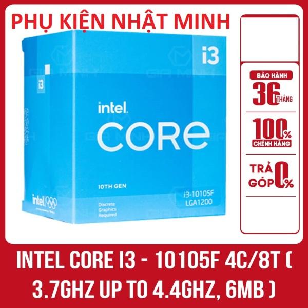 Bảng giá [FULL BOX CHÍNH HÃNG] Bộ vi xử lý CPU Intel Core i3 - 10105F 4C/8T ( 3.7GHz up to 4.4GHz, 6MB ) - Bảo hành 36 tháng Phong Vũ