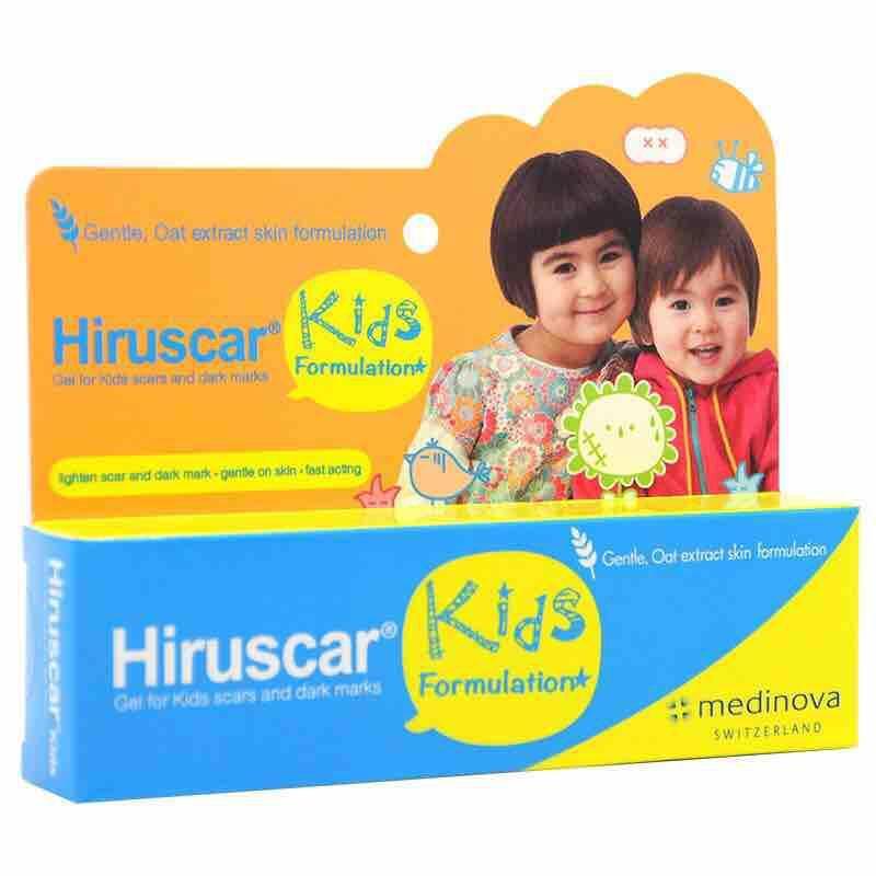 HIRUSCAR KIDS Gel cải thiện sẹo và vết thâm, ngứa dành cho trẻ em