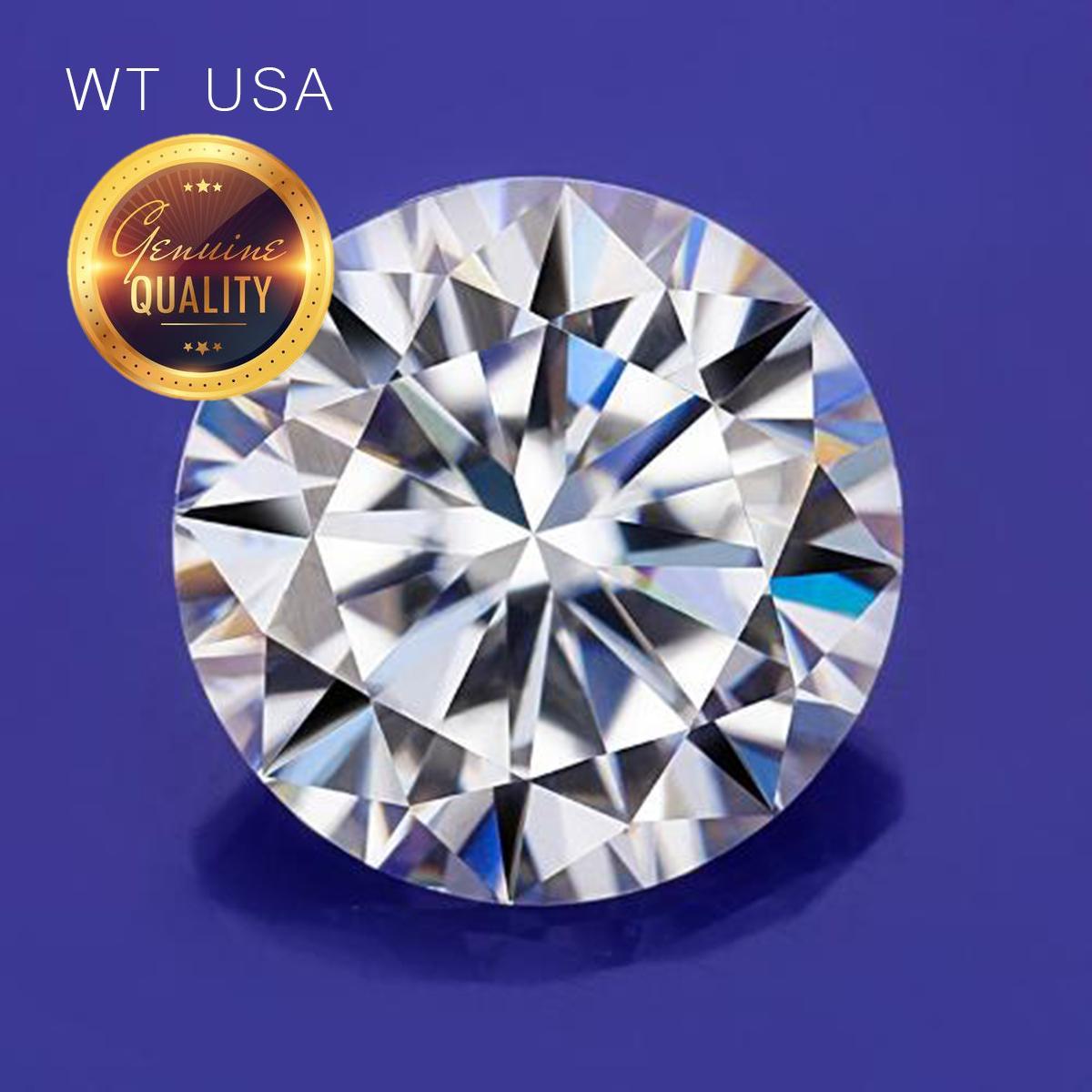 Kim Cương Nhân Tạo Gắn Răng 2.5mm - Loại cao cấp WT USA