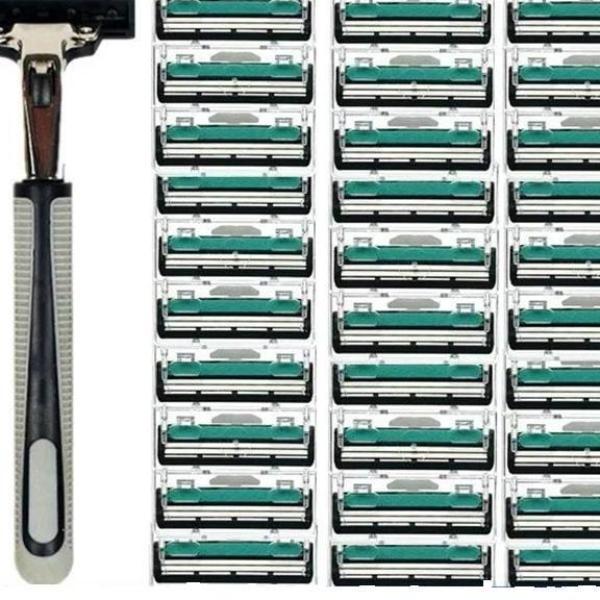Combo 1 dao cạo râu và 36 lưỡi dao kép-tặng kèm kem cạo râu giá rẻ