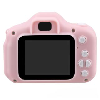 ✿ X2มินิการ์ตูนชาร์จกล้อง2หน้าจอขนาดนิ้วเครื่องบันทึกวีดีโอของขวัญสำหรับเด็ก 【คุณภาพสูง 】