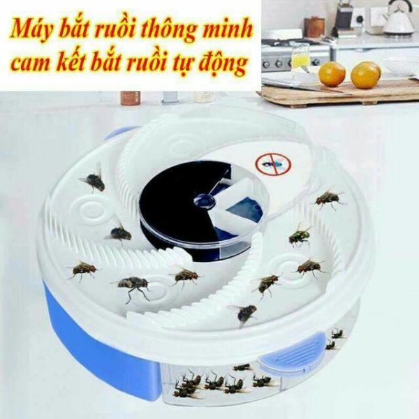 Máy Bắt Ruồi Tự Động 360 Độ - Thiết bị bắt ruồi Thông Minh , Máy diệt ruồi giá rẻ, Máy bẫy ruồi, Cách Diệt Côn Trùng Hiệu Qủa, hoàn toàn mới- an toàn- vệ sinh và tiết kiệm